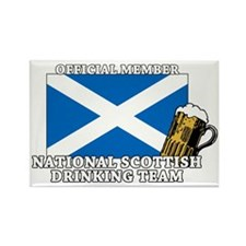 Scottish Drinking Team Rectangle Magnet
