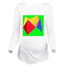 COOTIE CATCHER Long Sleeve Maternity T-Shirt