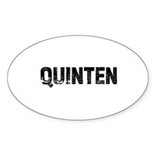 Quinten Oval Decal