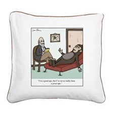 Great Ape Square Canvas Pillow