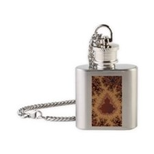 Fractal Dream Flask Necklace