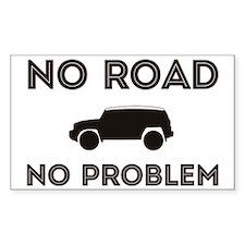 FJ Cruiser No Road No Problem Decal