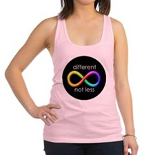 Different, Not Less Racerback Tank Top
