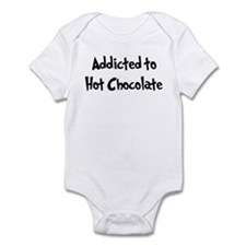 Addicted to Hot Chocolate Infant Bodysuit