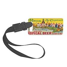 Tropical Beer Luggage Tag