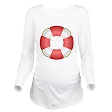 Lifer Preserver Long Sleeve Maternity T-Shirt