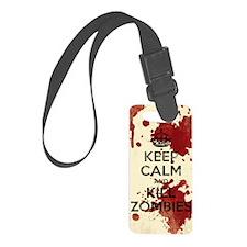 kill-zombies Luggage Tag