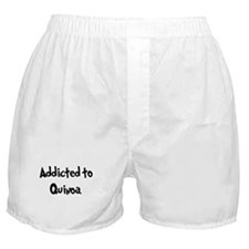 Addicted to Quinoa Boxer Shorts