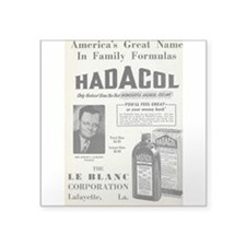 Hadacol Sticker (Rect.) Sticker
