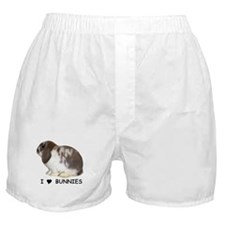 """I love bunnies 1"" Boxer Shorts"