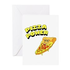Pizza Power Greeting Cards (Pk of 10)