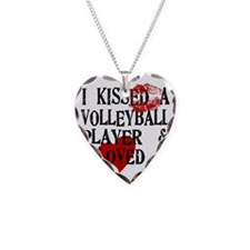 I Kissed a Volleyball Player Necklace