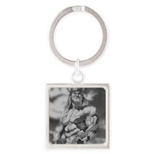 Conan The Barbarian Square Keychain