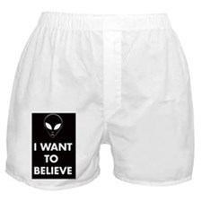 want-believe Boxer Shorts