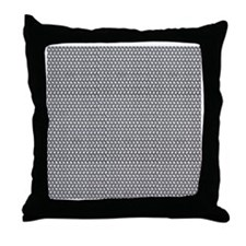 chain mail Throw Pillow