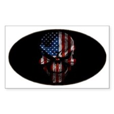 flag_skull_dark_Oval_Tailgate Decal