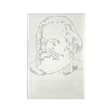 Marx Disappointed Rectangle Magnet