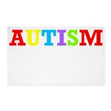 Autism awarness 3'x5' Area Rug