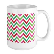 Christmas Candy Chevron Mug