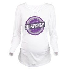 Heavenly Mountain Sk Long Sleeve Maternity T-Shirt