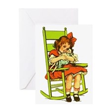 Dolly Rocker Greeting Card