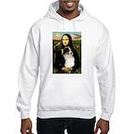 MonaLisa-Tri Aussie Shep2 Hooded Sweatshirt