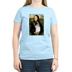 MonaLisa-Tri Aussie Shep2 Women's Light T-Shirt