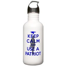 Keep Calm - The Boss - Water Bottle