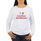 I Love Carolina Gentlemen T-Shirt