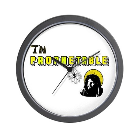 I'm Prophetable Wall Clock