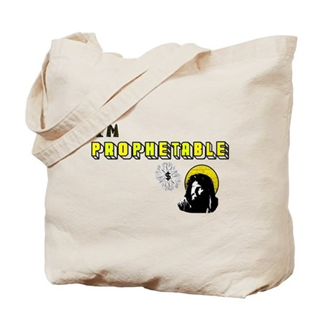 I'm Prophetable Tote Bag