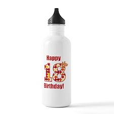 Happy 18th Birthday! Water Bottle
