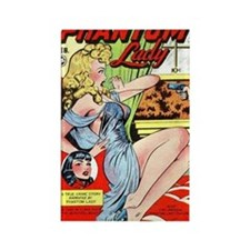 Phantom Lady Rectangle Magnet