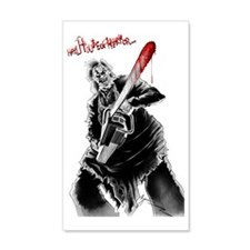 Hell House of Horror's Leatherfac Wall Sticker