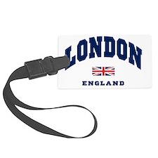 London England Union Jack Large Luggage Tag