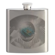 My World Surfer Girl Flask