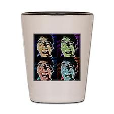 Dracula Pop Art Shot Glass