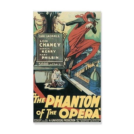 The Phantom of the Opera 1925 20x12 Wall Decal
