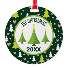 1st Christmas Personalized Ornament