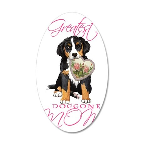 Berner mom1 35x21 Oval Wall Decal
