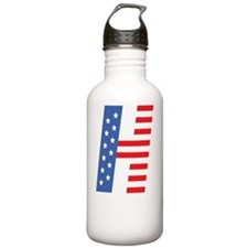 H is for Hillary in 20 Water Bottle