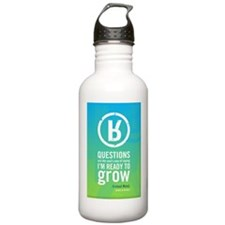 Ready To Grow Poster Water Bottle