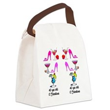 40TH CELEBRATION Canvas Lunch Bag