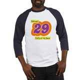 Party at My Place Baseball Jersey