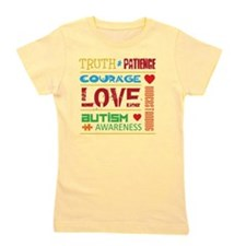 Autism Support Girl's Tee