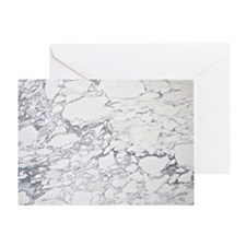 Marble Throw Greeting Card