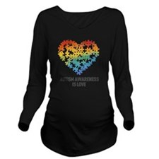 Autism Awareness is  Long Sleeve Maternity T-Shirt