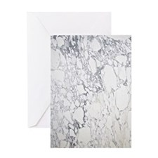 Marble Area Rug 2 Greeting Card