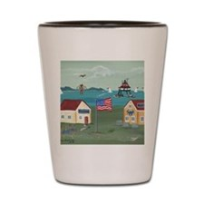 Thomas Point Lighthouse Shot Glass