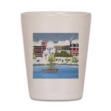 Christmas in Annapolis Shot Glass